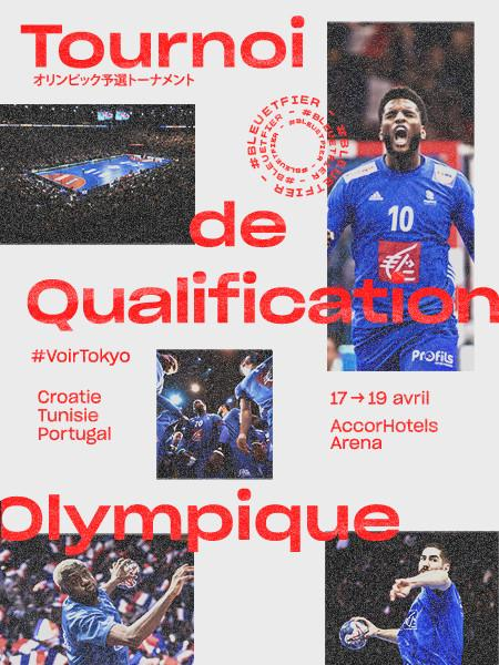 TOURNOI QUALIFICATION OLYMPIQUE MASCULIN