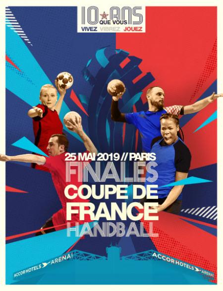 FINALES COUPE DE FRANCE DE HAND 2019